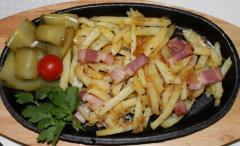 Картофель по-домашнему на сковороде