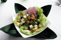 салат греческий с домашним сыром