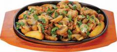 картофель по домашнему с мясом