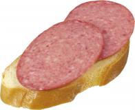 Бутерброд с колбасой в/к