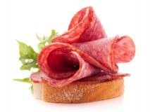Бутерброд с колбасой с/к